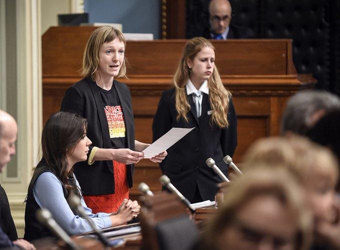 Catherine Dorion contrevient aux règles, selon la CAQ Photo
