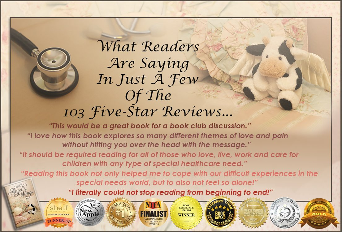 A Few #5star Thoughts on With Angel's Wings Thank you, readers!  https://t.co/t3EG8ScQre  https://t.co/rYJPzaguMv  #Kindle #KindleUnlimited #memoir #ASMSG #IAN1 #IARTG #specialneeds #parenting #motherhood #autism #WeLoveMemoirs #ebook #book #bookboost https://t.co/sATvNCdHnE