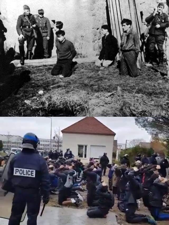 Протесты на коленях