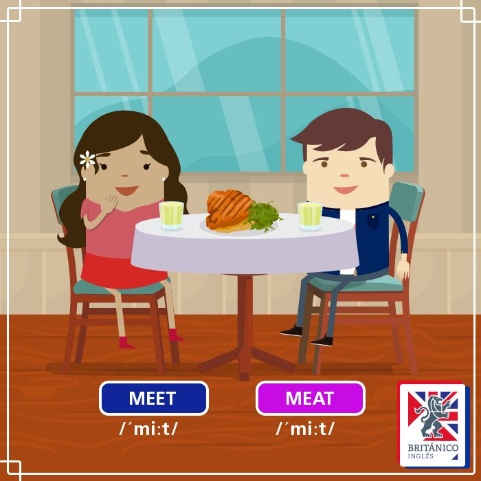 Ready for another #HomophoneChallenge? Write us a sentence using both words, like this: 'When we meet, we never eat meat, we're vegetarians' 🤪 https://t.co/6bhJhoxH3z