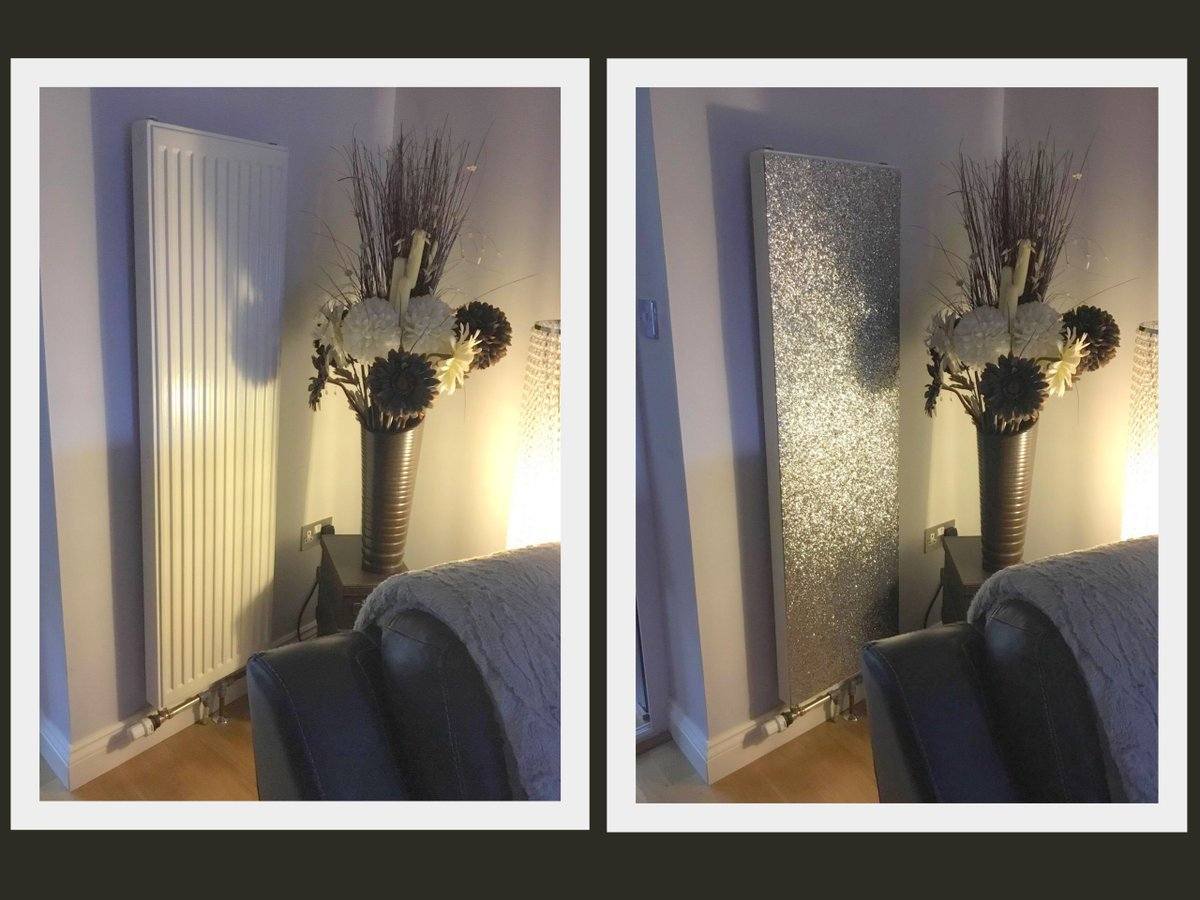 Radwraps On Twitter Fantastic Customer Shot Glitter Magnetic Radiator Covers Real 3d Glitter No Heat Loss Fitted In Seconds Glitter Magnetic Radiatorcover Sparkle Energy Xmas Interiordesign Radcover Homedecor Homeinspo Silver