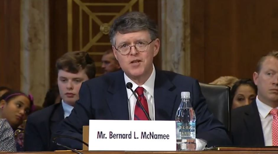 Bernard L. McNamee, who is now one of the nation's top energy regulators, took the opportunity last Earth Day to praise oil and coal https://t.co/YWfrOxKpw8