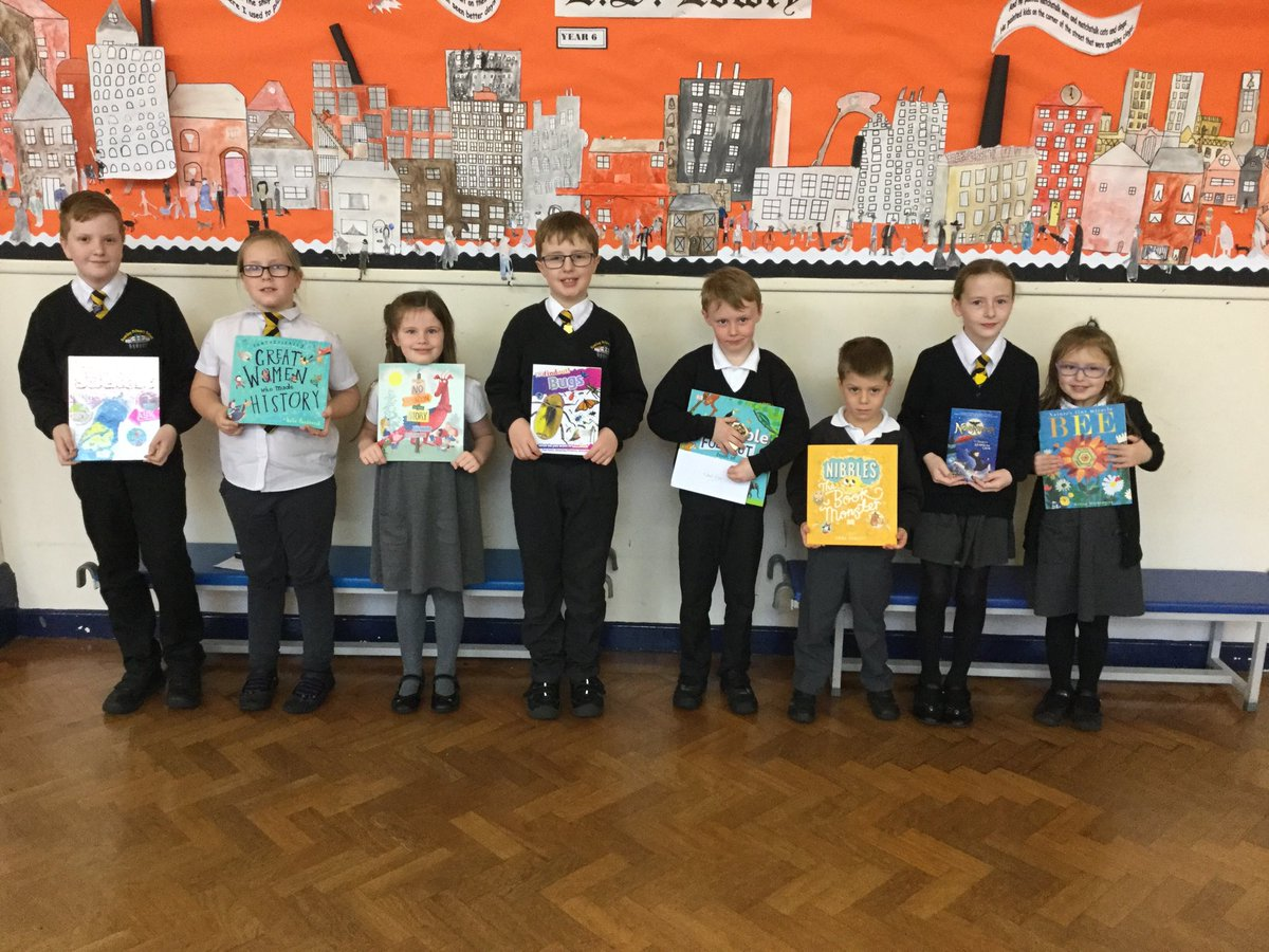 @RomileyPS Reading Award winners. All chosen by teachers for their hard work and commitment to reading....And for being BRILLIANT!! 👏📖👏📖
