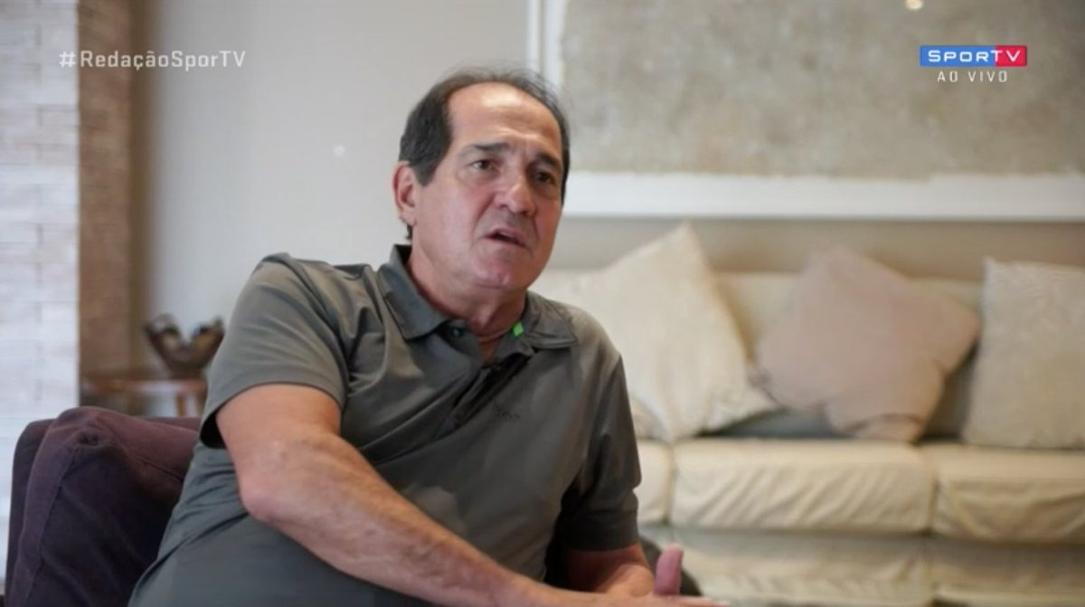 """Muricy Ramalho: """"Eu acho que no São Paulo, como ganhavam muito, sempre, as pessoas se acomodaram.""""  #RedacaoSporTV"""
