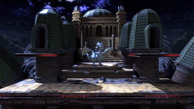 하나 포켓몬 리그는 대난투 스매시 브라더스 for Nintendo 3DS에서 처음 추가되어 얼티밋에 재등장한 스테이지입니다. 가끔 배경에 N의 성이 올라오며 이 N의 성에서 제크로무 또는 레시라무가 나타나 플레이어를 방해합니다. 배경으로는 밀로틱, 엘풍, 쉐이미가 등장합니다. 사진