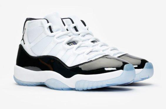 """b1dd89d26f78 Air Jordan 11 """"Concord"""" Color  White Black-Dark Concord Style Code ..."""