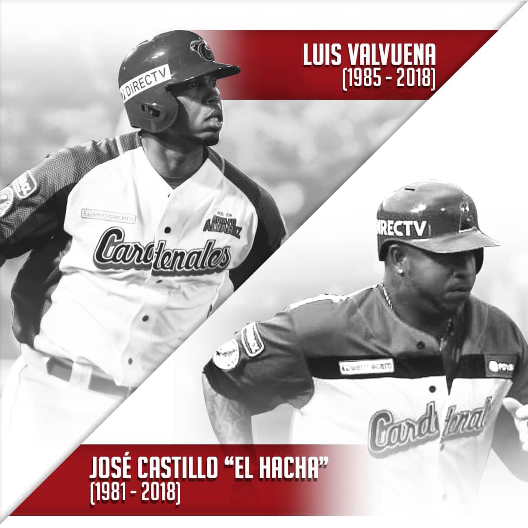 """Fallecen José """"El Hacha"""" Castillo y Luis Valbuena del Cardenales Dt0FSV3XgAAkFe7"""