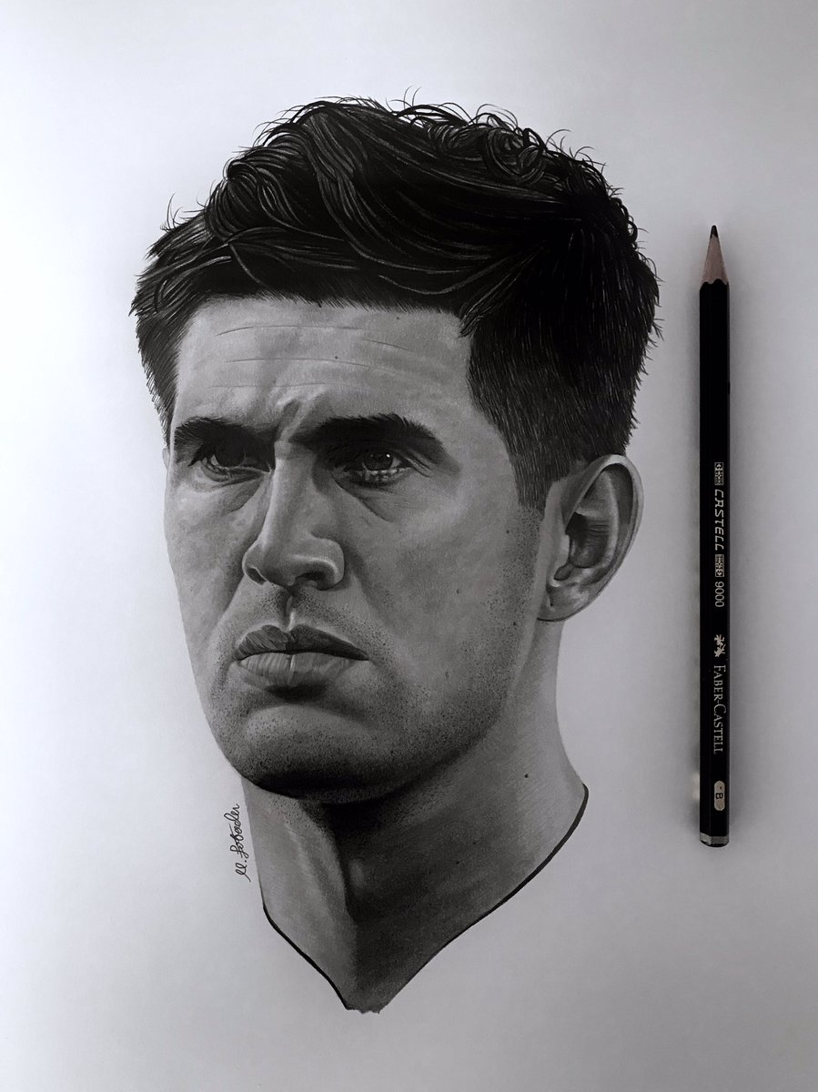 Commission I completed yesterday of England and Manchester City centre-back, John Stones