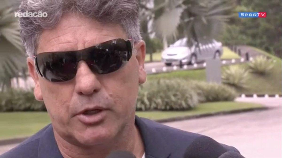 Renato: 'Eu já estou adiantando pra vocês: vou estar todos os dias na praia!'  Esse cara... 😂😂😂  #RedacaoSporTV