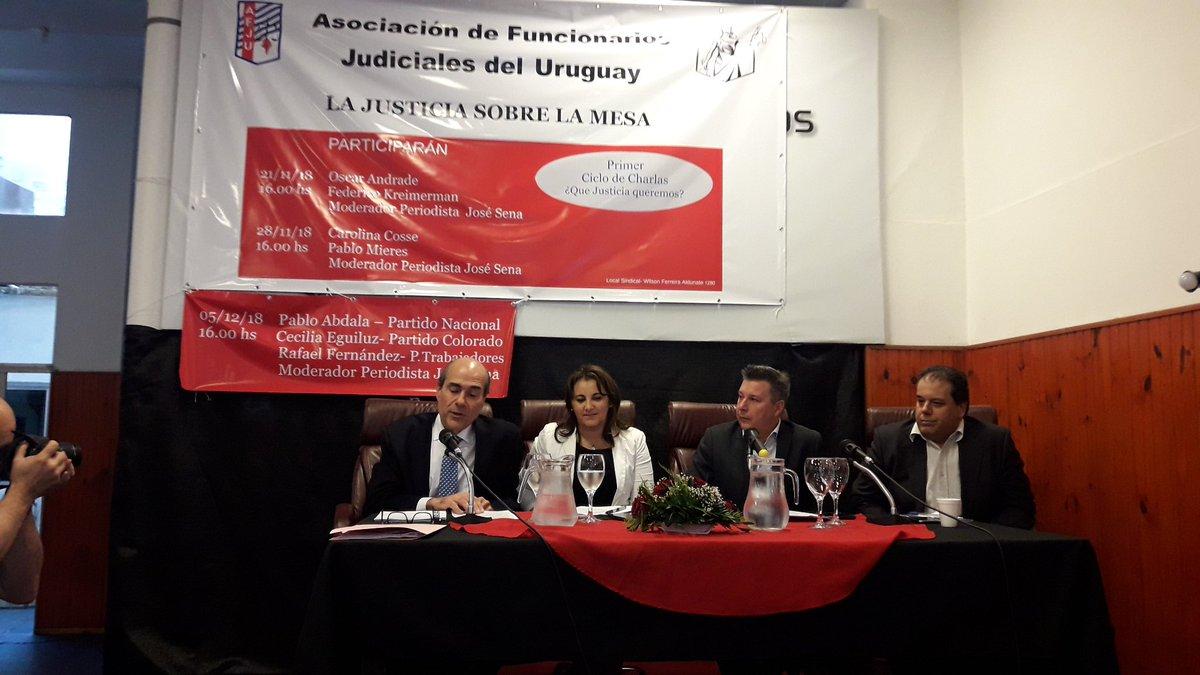 PABLO ABDALA On Twitter Muchas Gracias A La Asociacin De Funcionarios Judiciales Afju Por Invitarme Integrar Uno Los Paneles Del Ciclo