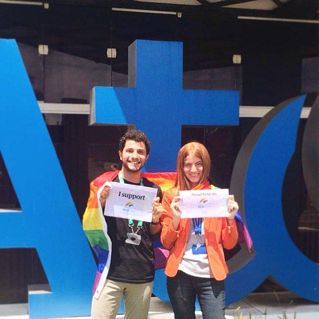 A rede AtosPride reune e apoia todos os funcionários lésbicas, gays, bissexuais e transgênero...