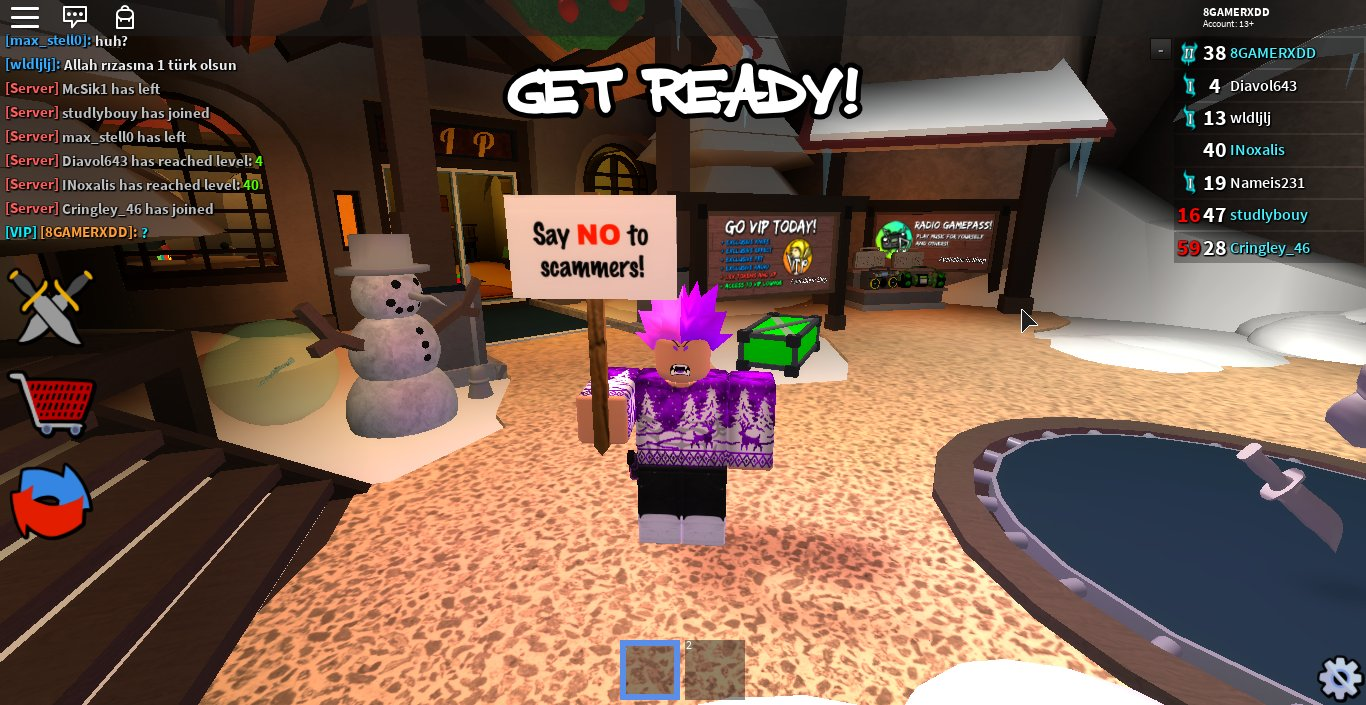 How To Scam In Roblox Assassin Mr 8 On Twitter Hey Guys Say No To Scammers In This Holidays Dont Lost Your Items In Scams Take Care Saynotoscam Roblox Assassin Letsgotradehonestly Retweet Are Appreciated Xd Ok No V