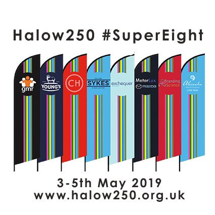 RT @halow250 Putting out the flags for #halow250 #supereight @halowproject