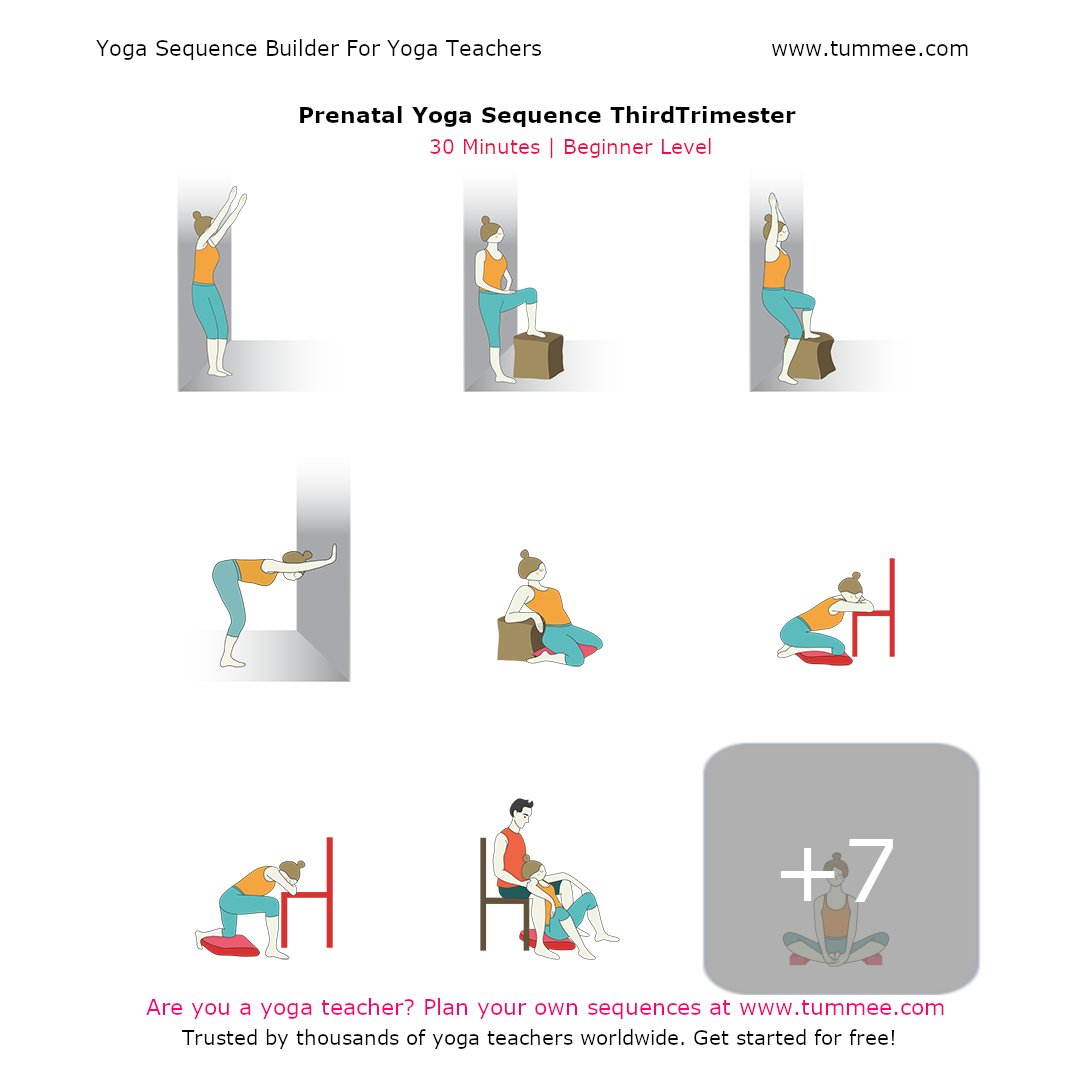 Tummee On Twitter Https T Co Iavbjmyyt7 For Detailed Instructions For This Prenatal Yoga Sequence And 90000 Other Sequence For Your Yoga Classes Yoga Yogasequences Https T Co Jia0oksgka
