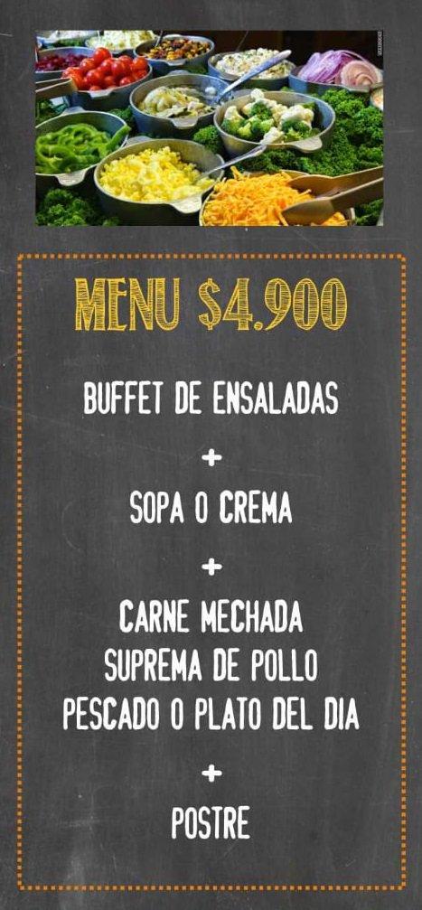Hola que tal, para empezar la semana, hoy el plato del día es hamburguesa de vacuno con salsa de queso. #platodeldia #comidacasera #menu #menus #picadasenvalpo #Valpo #Valparaíso #restaurante #Rolandbar #picadasconamigos #horadealmuerzo #BuenViernes