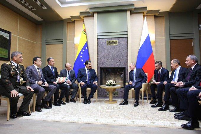 Venezuela y Rusia firmaron contratos para elevar producción de petróleo y oro #GMVVHito2Millones400Mil Photo
