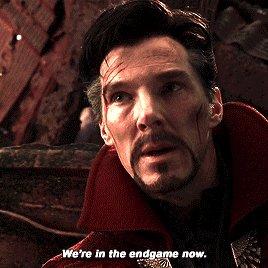 Doctor Strange won, he said the title to #Avengers4 in Infinity War. #AvengersEndGame Photo