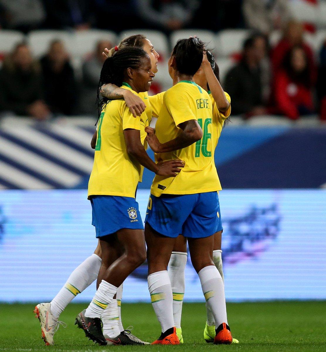 Amanhã tem sorteio dos grupos da Copa do Mundo Feminina, que será disputada em junho de 2019! Dia de conhecer as adversárias da #SeleçãoFeminina na competição.  Fique ligado aqui para saber tudo sobre o evento! #GigantesPorNatureza