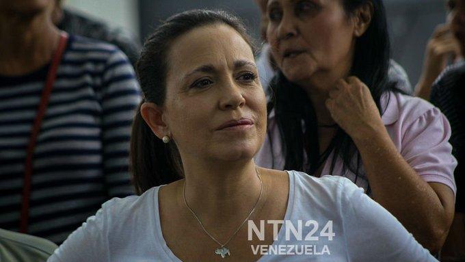 """""""Es un asesinato, así calificó María Corina Machado la trágica muerte de los peloteros venezolanos Luis Valbuena y José Castillo #7Dic Photo"""