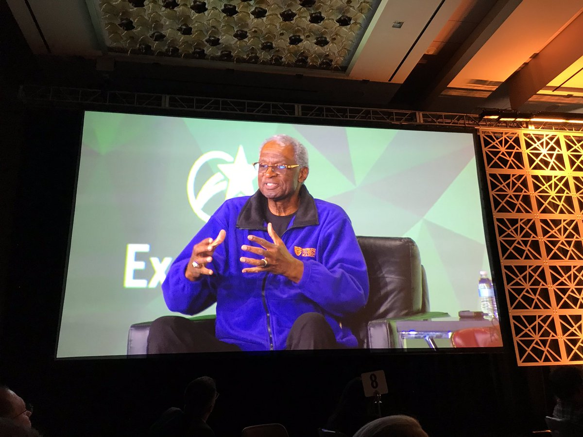 """""""There is a difference between public education and the system that delivers it.""""  -Dr. Howard Fuller #EIE18 <br>http://pic.twitter.com/hs9mQFP81w"""