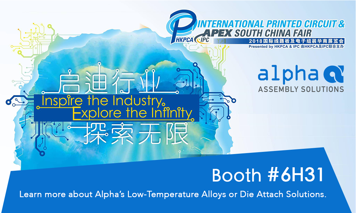 Alpha Assembly Twitter Enthone Printed Circuit Board Fabrication Solutions Joins Our Sister Company Macdermid At The 2018 International Apex South China Fair Booth6h31