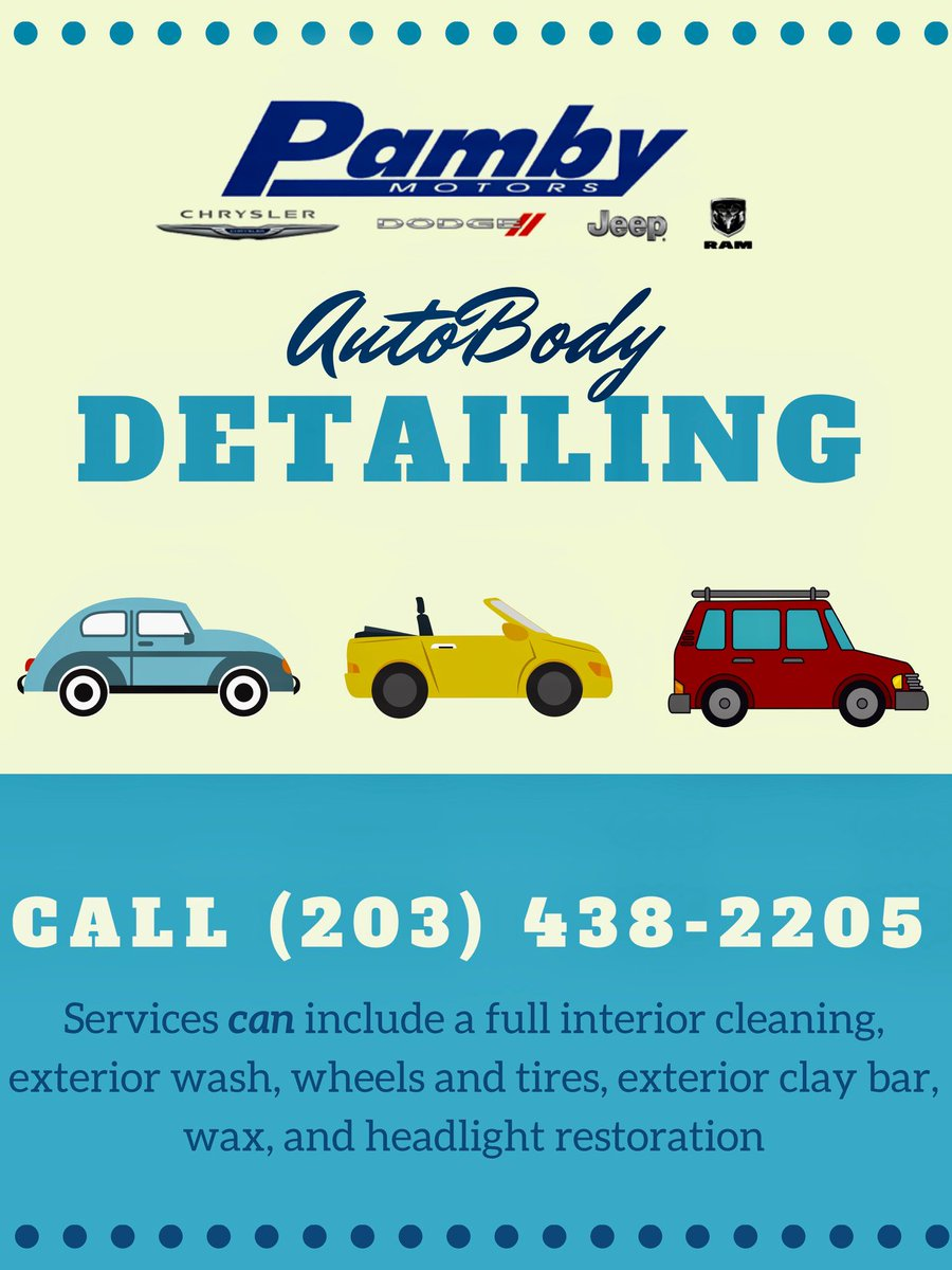 Thanks to @Hello Ridgefield Social Media Consulting we learned that there's a lot of spilled milk in your cars! Call #PambyAutoBody today for a #CarDetail!