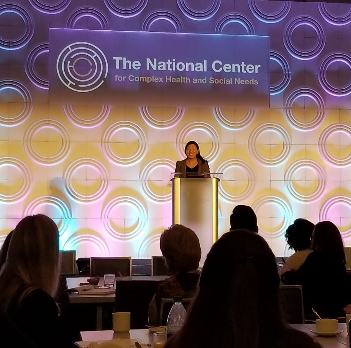 At #CenteringCare18 the keynote speaker @aijenpoo had the room in tears before 8 am hearing and sharing our care giver stories. Stay grounded in our human experience!<br>http://pic.twitter.com/mWlhAELsDE