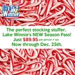 Image for the Tweet beginning: Buy season passes at