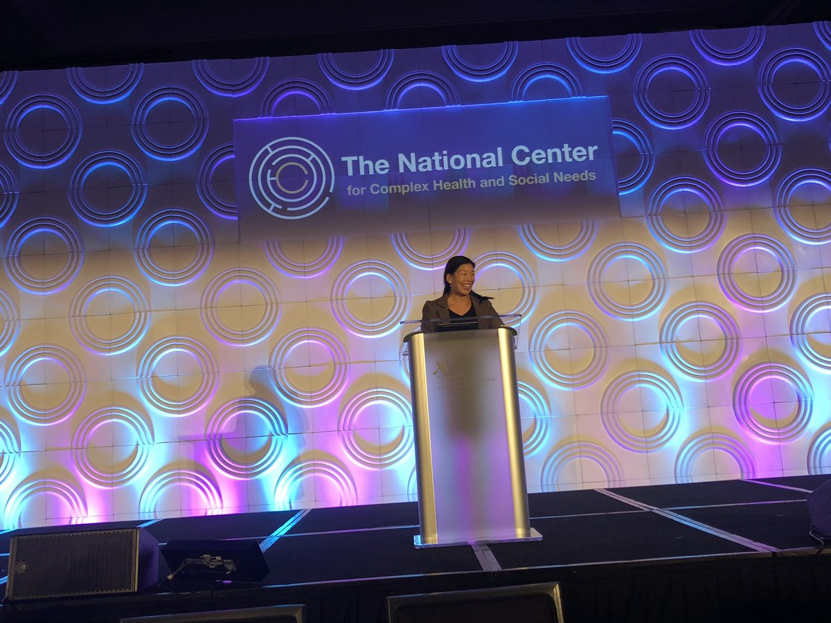 """we as a country don't have a plan"" - referring to aging and long term care needs.  we can no longer rely only on the unpaid labor of women.  we need a care infrastructure for the future.   this keynote from @aijenpoo is so powerful. the audience is enamored  #CenteringCare18 <br>http://pic.twitter.com/Da48aOyFdB"