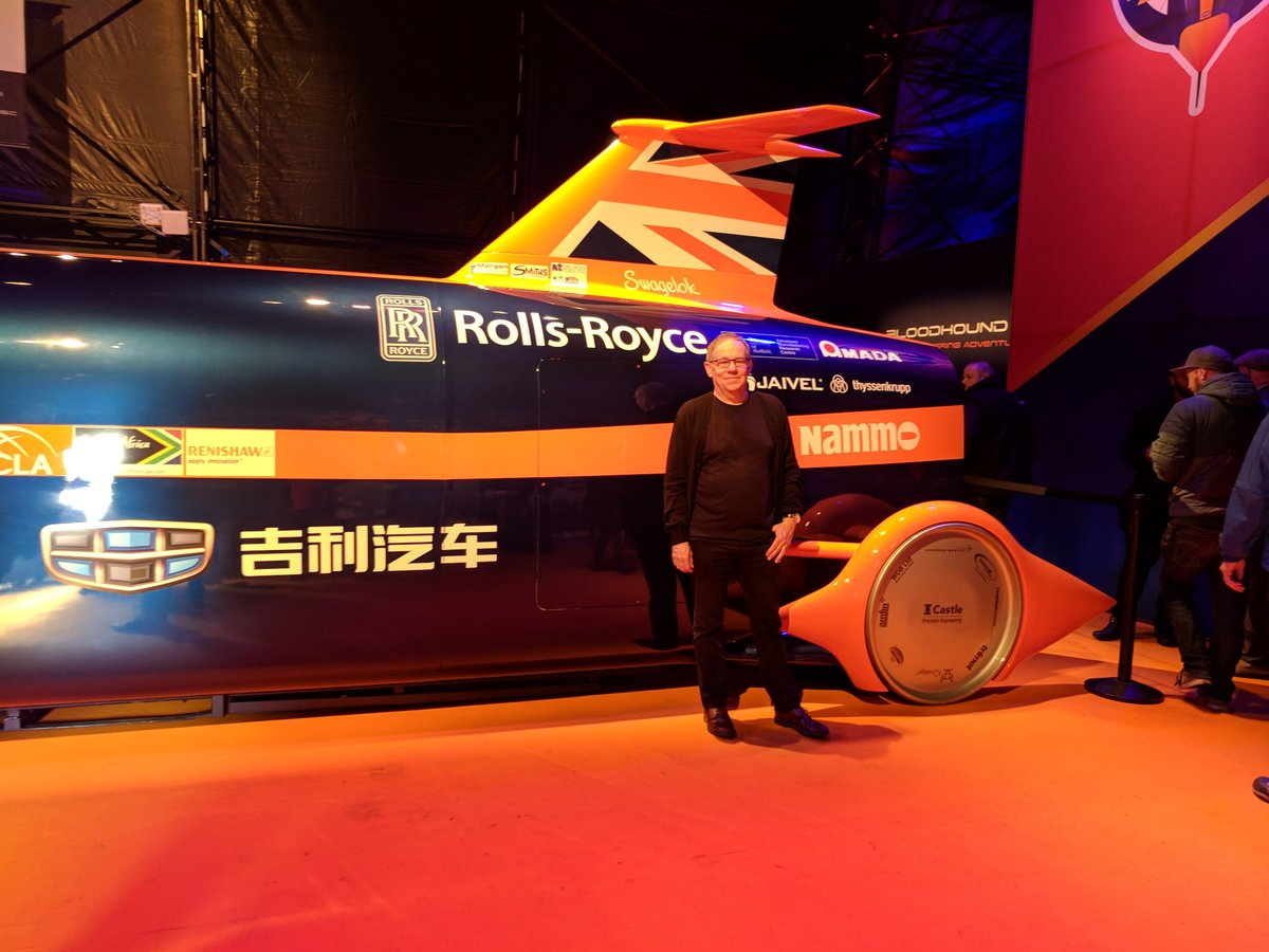 Some of our multi millionaire musicians &amp; business people could have easily saved #Bloodhound but now it&#39;s too late.  I&#39;ve supported RN &amp; AG Thrust. Saw car run at Newquay &amp; everything was so positive. To see it die is a great pity &amp; a real waste of the hard work invested to date <br>http://pic.twitter.com/0az9y7zmXS