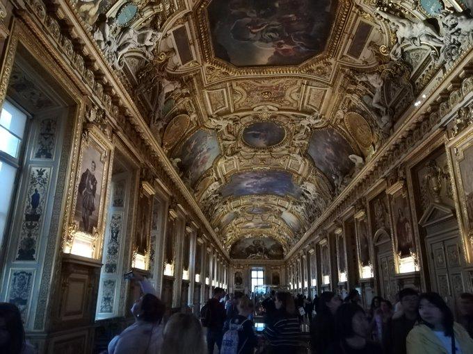 #HisteriaDelArte es vivir el día del #OrgulloBarroco en el Louvre. Photo