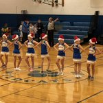 Image for the Tweet beginning: 5th graders made their cheer