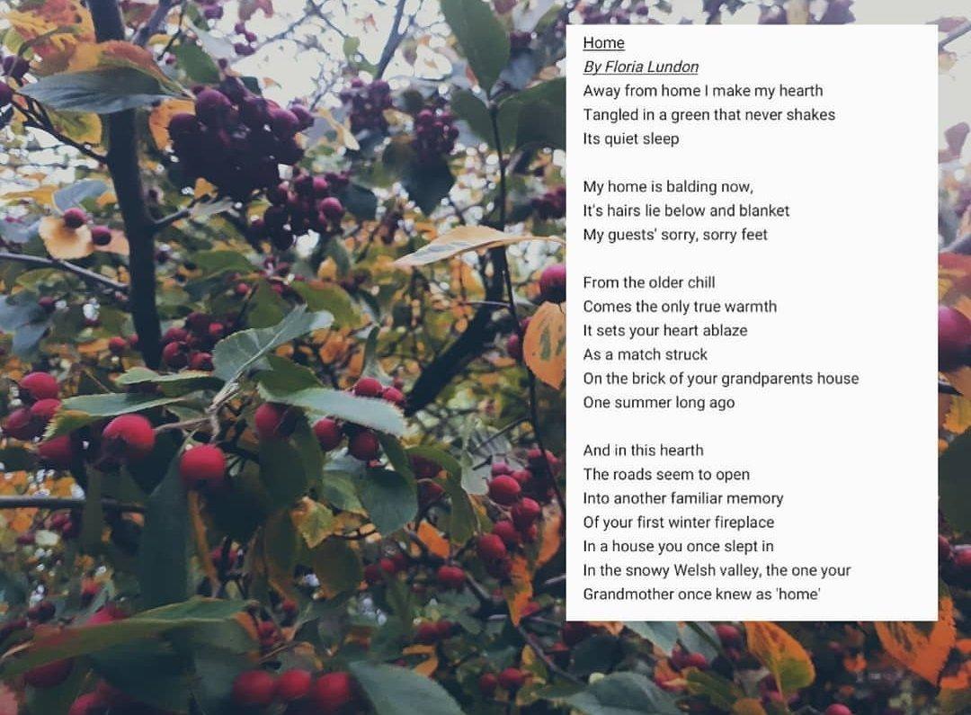 an evening walk poem