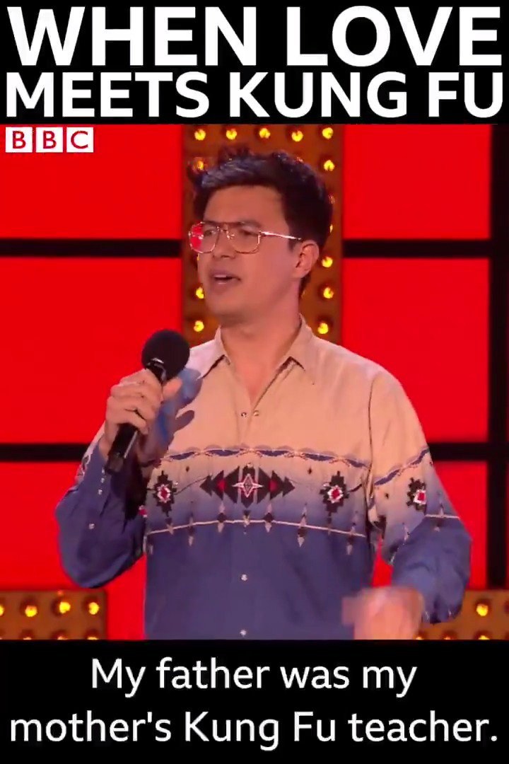 The story of how @PhilNWang's parents met is just hilarious. 😂 #LiveAtTheApollo