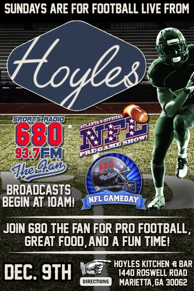 680 The Fan On Twitter Join Us At Hoyles Kitchen Bar