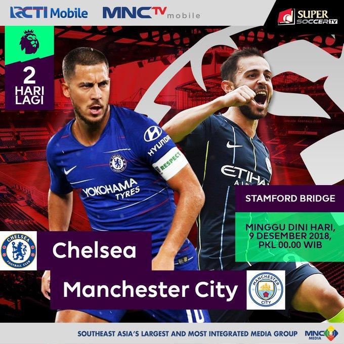 SUPER BIG MATCH!! LONDON VS MANCHESTER! Chelsea vs Manchester City akan bertemu pada pekan ini di Stamford Bridge pada Hari Minggu pukul WIB. Tonton keseruan match ini yang dipersembahkan oleh @my_supersoccer hanya di RCTI! #SUPERSOCCERTV #CHEMCI Photo