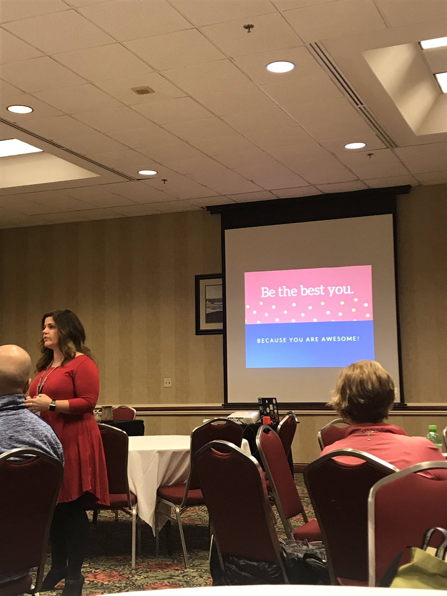 @AllysonApsey is spreading some positivity this morning. #MEMPSA18