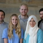 Image for the Tweet beginning: Our new lab photo. Five