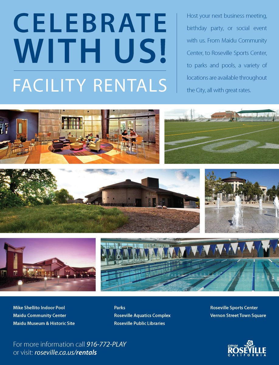 From Indoor Pool Parties To Campfires Sports Fieldsfind Out What Roseville Has Offer For Your Next Birthday Party Or Special Event At