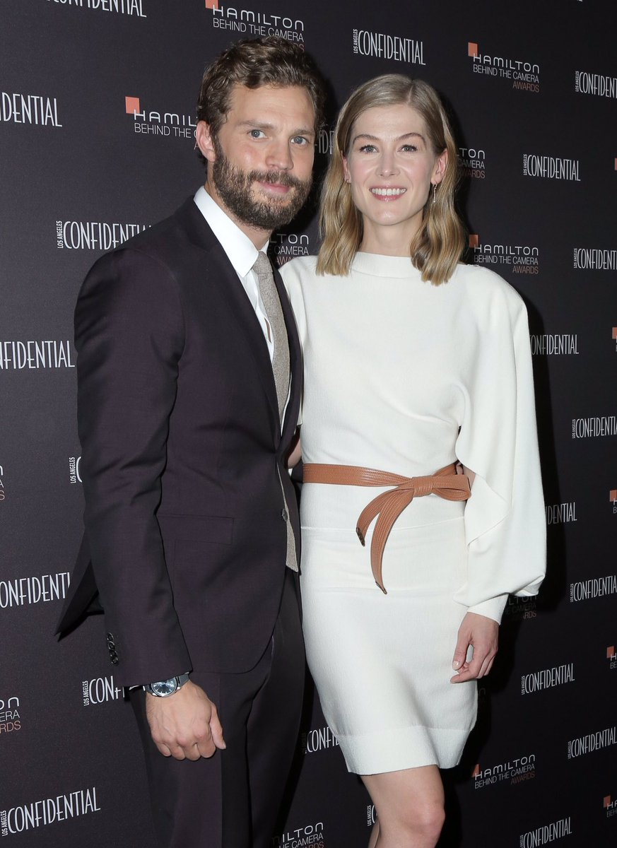Director @MattHeineman and I were on the phone just now, and co-star #JamieDornan was just texting me, he was such an ally in the whole thing.There&#39;s not a lot of talk about honesty and integrity in our business, but this film was truly a labor of love -#RosamundPike @aprivatewar<br>http://pic.twitter.com/SDSQ6SzRP0