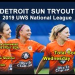 Image for the Tweet beginning: DETROIT SUN FC TRYOUT JANUARY 2nd TOTAL