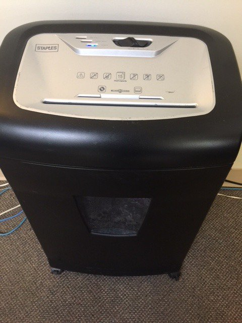 ... amateur pornographers sent their movies to us on CD. This Staples  15-sheet capacity shredder retails for about $170 but is yours today for  $85.