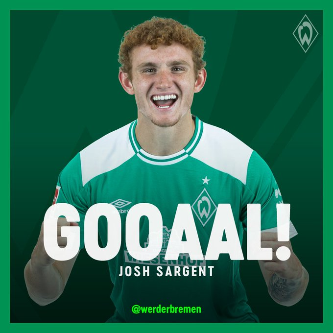 THE RED BARON SCORES 2 MINUTES AFTER COMING ON! ⚽ 3-1 #werder #SVWF95 Foto