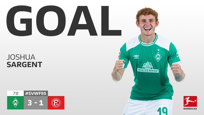 🇺🇸🇺🇸🇺🇸 @joshsargent scores with his first touch! 😱 #SVWF95 Foto
