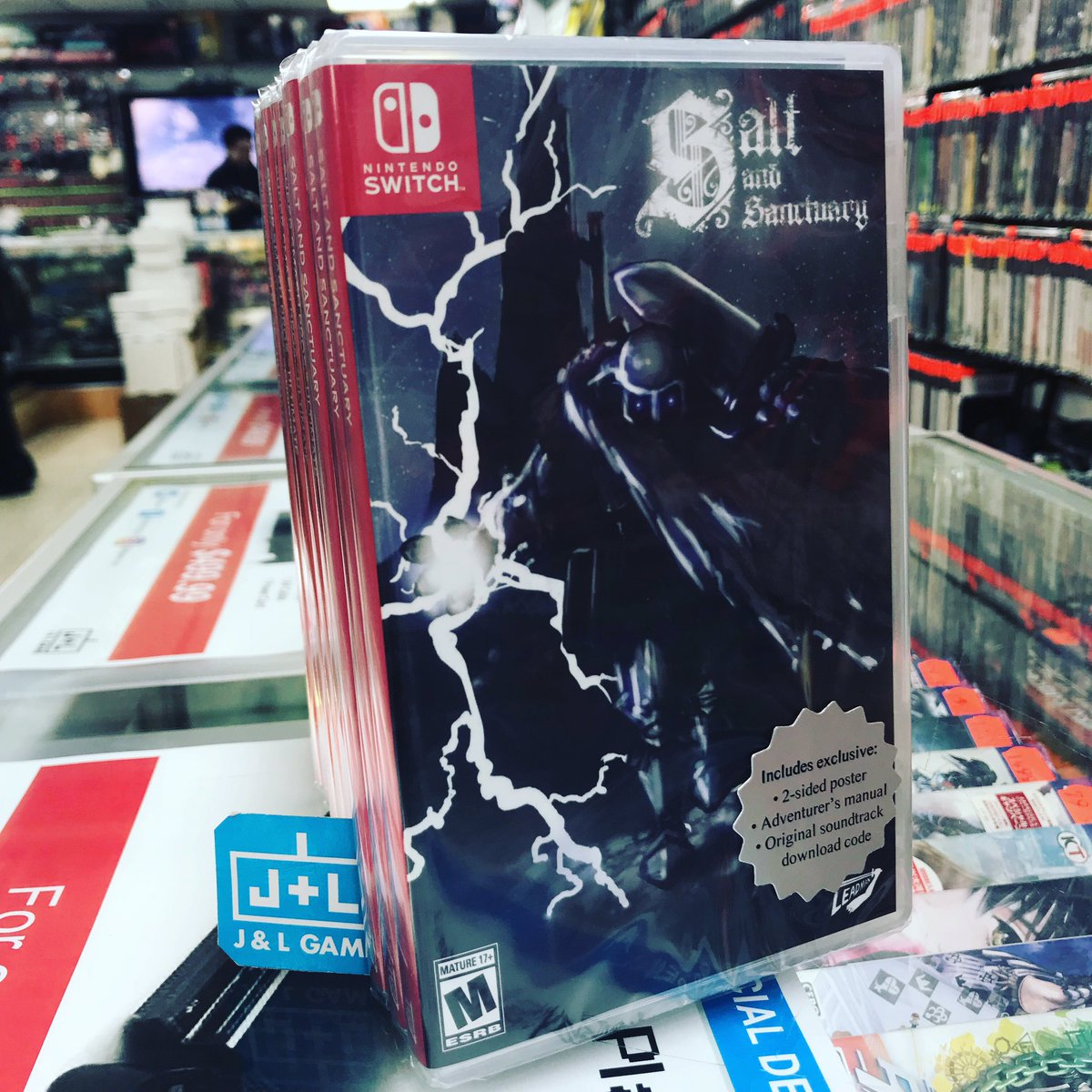 salt and sanctuary drowned tome edition nintendo switch game