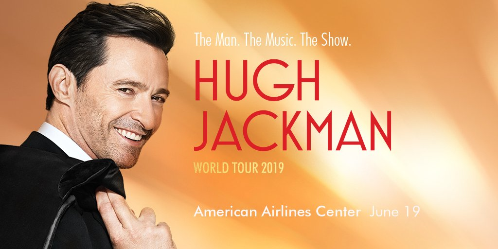 The Man. The Show. The Music. Tickets for @RealHughJackman on June 19 are on sale now! 🎟️:ticketmaster.com/event/0C005570…