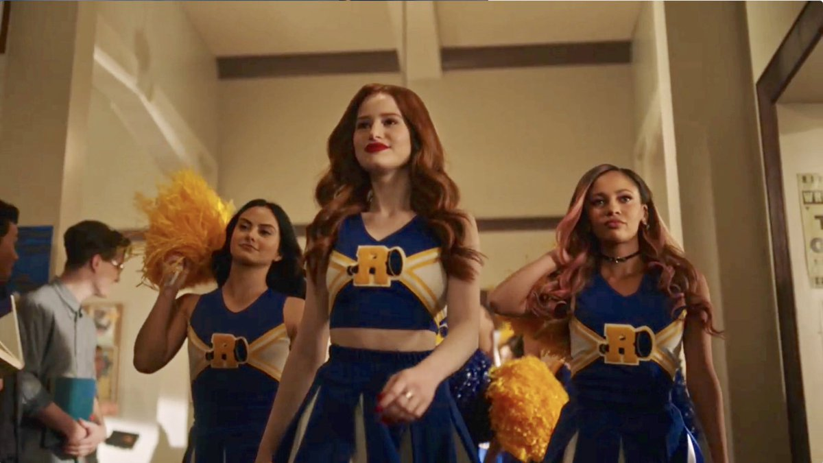 The Vixens are BACK in the midseason finale of #Riverdale  next week!  <br>http://pic.twitter.com/QuJee0u7mS