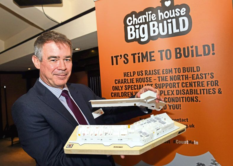 A pleasure to support @CharlieHouseHQ with their #BigBuildAppeal Get involved!