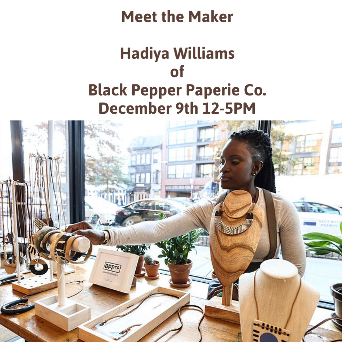 #ShopZawadi for your holiday gifts & purchase a collection of handmade clayware, jewelry & print works this weekend!