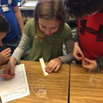 Image for the Tweet beginning: 5th Graders were exploring osmosis